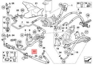 BMW X6 E71 Steering Hose Line 32416788260 6788260 GENUINE NEW