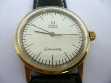 VINTAGE OMEGA SEAMASTER  AUTOMATIC WATCH GOLD CAPPED CALIBER 711