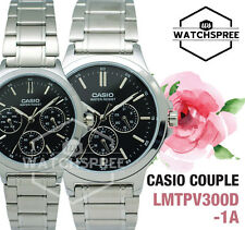Casio Couple Watch LTPV300D-1A MTPV300D-1A
