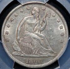 1860-S Seated Liberty Half Dollar PCGS AU55