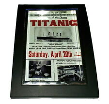 Mini Titanic Poster Nice Framed Art Print Display Memorabilia Man Cave