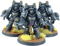 Warhammer 40k Space Marines Raven Guard Primaris Aggressors