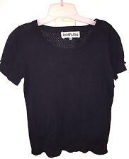 Diab'Less Black Trendy Blouse