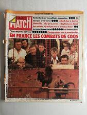 N930 Magazine Paris-Match N°1339 25 janvier 1975 en France les combats de coqs