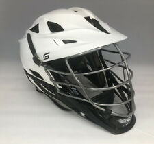 Cascade S Lacrosse Helmet, White/Black Adult New Without Tags Free Shipping