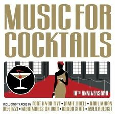 Music For Cocktails 10th Anniversary 2CDs Kraak & Smaak Mo Horizons