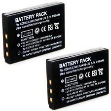 2x Battery for Kodak EasyShare DX6490 DX7440 DX7590 zoom DX7630 P712 P850 P880