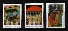 2010 LEBANESE TRADITIONAL HOUSES MNH Scott# 655-657