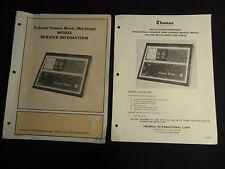 Thomas Electric Orchestral Presence Module M0003 Service Manual Mini-Strings