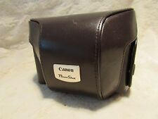 Rare  - Canon Fitted Leather Case PSC2000 For PowerShot G2 Digital Cameras