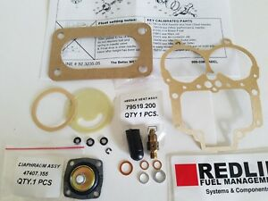 Weber 38 DGAS Carburetor Rebuild Kit - Genuine Weber Kit