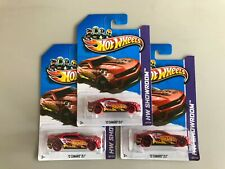 HOT WHEELS CHEVY CAMARO ZL1 RED VARIATION ERROR RED SHOWROOM ZL1 MOC RLC 2012