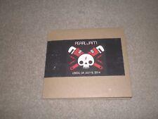 PEARL JAM CD SET LIVE  Leeds July 8 2014 OFFICIAL BOOTLEG 3 DISC SET