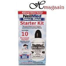 NeilMed Sinus Rinse Starter Kit With Bottle + 10 Premixed Sachets