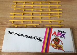 Vintage Aurora AFX Snap-On Guard Rails No. 1532