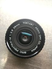 SMC Pentax-M 28MM F2.8 Prime Lens—Excellent++—SN 7061491