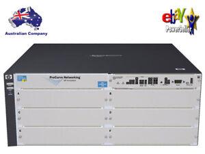 New HP ProCurve 5406zl (J8697A) Switch Chassis w/ PoE+ PSU - J9306A & J8726A,