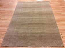 Plain BEIGE Natural Modern Contemporary Dense Quality Wool Rug 80x150cm 50%OFF