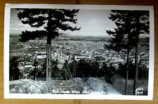 RPPC BELLINGHAM WASHINGTON from SEHOME HILL Ellis GP Vintage Photo Postcard USA
