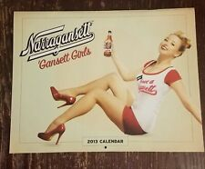 Narragansett Beer 2013 Gansett Girls Pin-Up Calendar