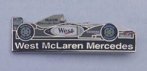 LEWIS HAMILTON WEST McLAREN MERCEDES F1 TEAM FORMULA ONE F-1 PIN BADGE #2