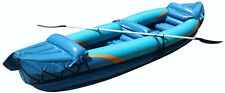Wave Inflatable 2 Person Kayak with Aluminum Oars