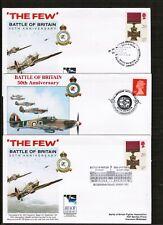 3 x Battle of Britain Anniversary Covers