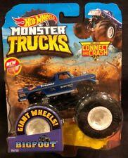Hot Wheels Monster Trucks Blue Bigfoot 1:64 Monster Truck New 2018