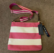 Tommy Hilfiger Pink Stripe Cross Body Bag BNWT