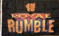 Royal Rumble Flag 3x5 WWF Wrestling WCW