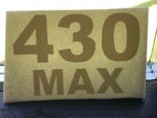 2 Steiner 430 MAX Tractor Mower hood support Decal Die-cut Vinyl sticker
