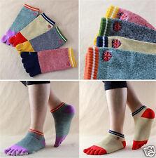 5pairs five finger toe socks men sports socks Random color G39