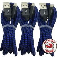 3-Pack 6Ft Flexible USB Charging Cable For iPhone 11 7 6 Plus 8 Pin Charger Cord