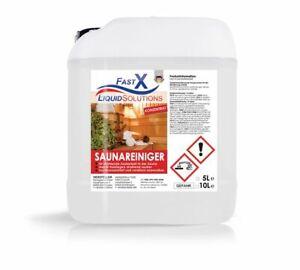 Fast-X Saunareiniger Konzentrat 5 Liter Saunadesinfektion Saunapflege