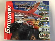 Graupner Modellbau Kit Catalogue 2006 Book 1031 Pages!