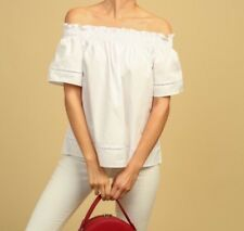 NWT Boutique White Off The Shoulder Blouse