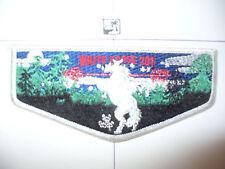 OA White Horse Lodge 201,S-11,2001 Flap,WHT WWW,RMY Arr,62,65,123,205,367,499,KY