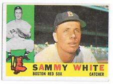 1960 Topps #203 Sammy White - Boston Red Sox (nice)