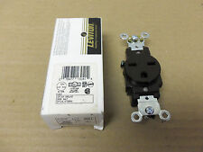 New Leviton 5661 Brown Single Outlet Receptacle Fire Alarm