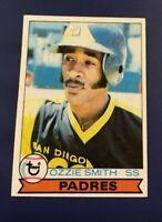 1979 Topps # 116 OZZIE SMITH ROOKIE RC San Diego Padres Nice Shape !