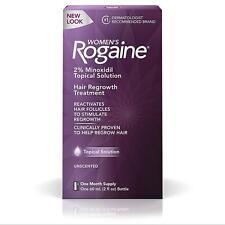 Rogaine 6TKCzj1 Womens Hair Regrowth Treatment 1-Month Supply 2% Minoxidil