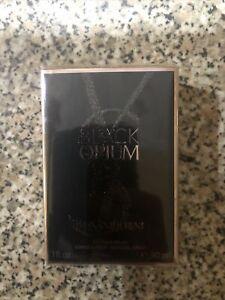 YVES SAINT LAURENT BLACK OPIUM 30ML EAU DE PARFUM SPRAY BRAND NEW & SEALED