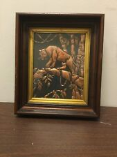 Antique victorian WALNUT Deep frame 13.5 By 11.5 holds 8x10 Photo