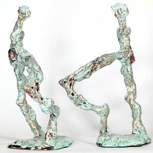 "Kunst Skulptur ""Tanz"" 21cm Unikat Andreas Loeschner-Gornau"