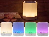 Rockville PBL20 20 Watt Portable Bluetooth Speaker w/ LED Lantern/Lamp+Aux+SD