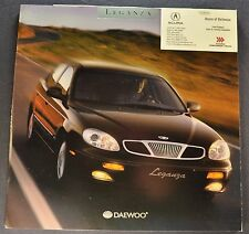 2000 Daewoo Leganza Catalog Sales Brochure Excellent Original
