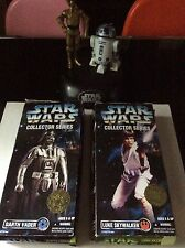 "Star Wars Collector Series 12"" Darth Vader,Luke Skywalker,+ C-3PO and R2-D2 Bank"