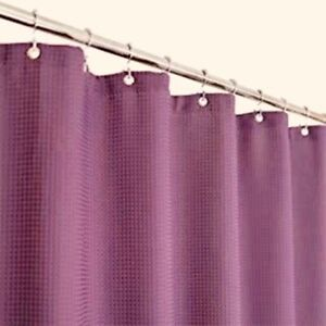 3 Light Purple Shower Curtains Size Is 70x72