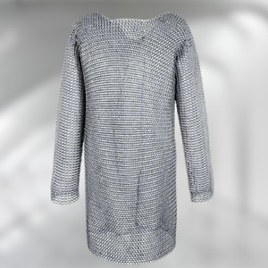Medieval Aluminium Butted Chainmail Shirt Armour Haubergen,Choose the Size