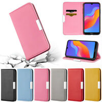 Litchi Wallet Leather Flip Cover Case For Huawei Y5 2019 P30 Lite Y7 2019 Y62019